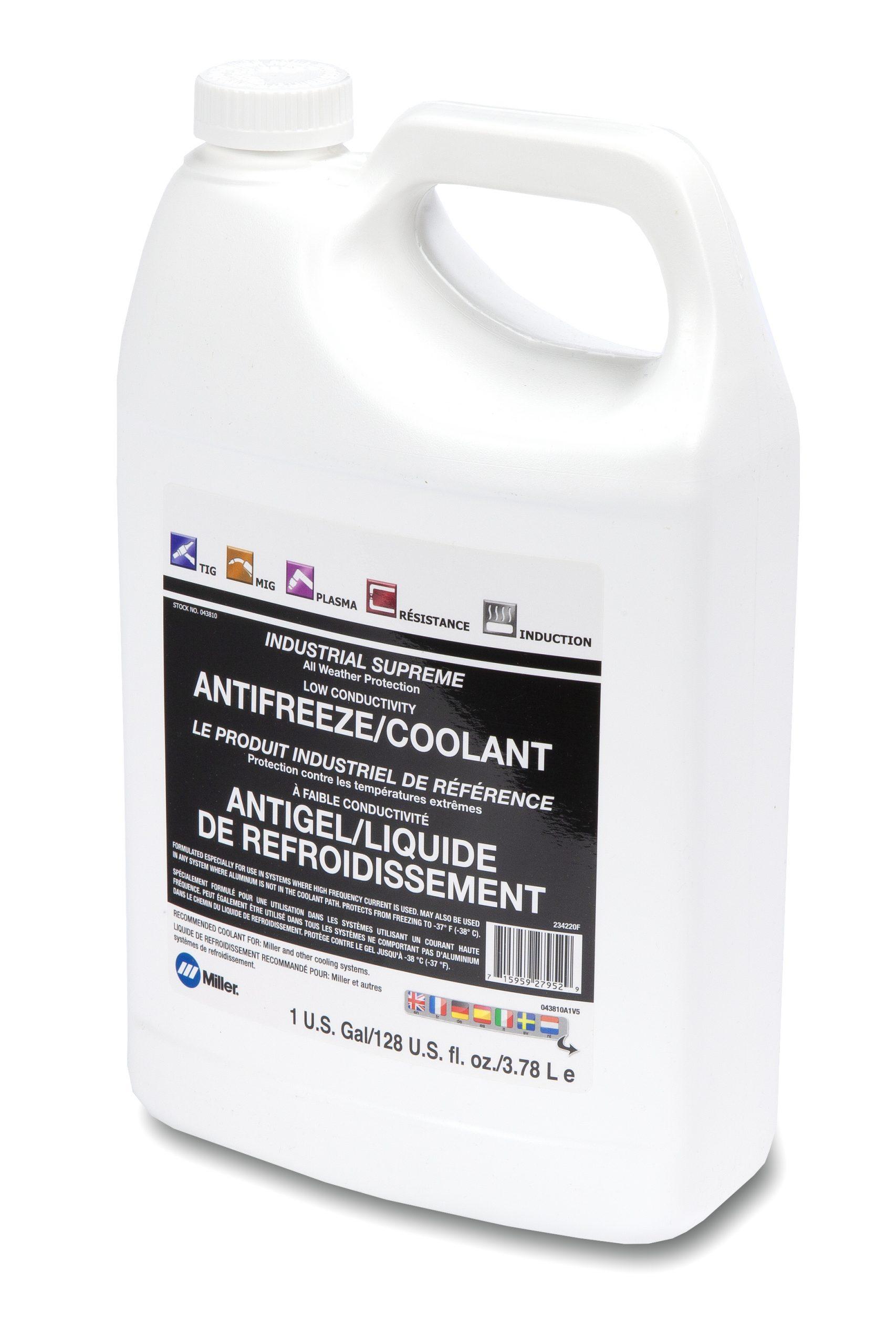 Low-Conductivity Antifreeze/Coolant